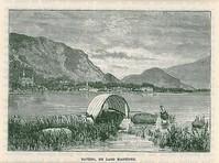 Baveno 1870 Con Villa Henfrey Branca E Hotel Bellevue/Dino